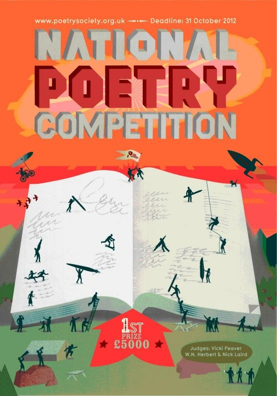 National Poetry Competition flyer cover image