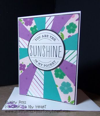 It is February and still cold here in the South! Sunny Thoughts (S1802) is a great 'SUNSHINE' stamp set with beautiful sunny images.   Min... #ArtAndCraftThoughts