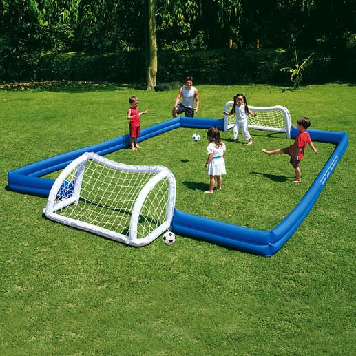 Garden soccer field