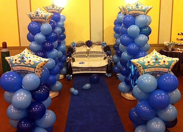prince denim theme and loveseat balloon decor pinterest