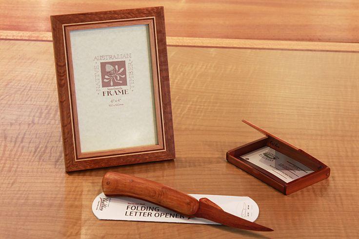 100% Handmade Gift Bundle: The Fine Woodwork Desk Set | Australian Woodwork
