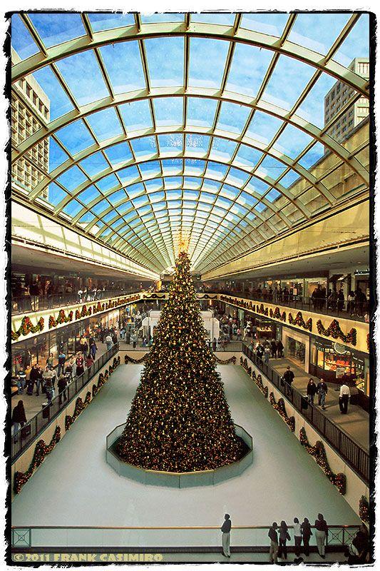 Galleria Christmas Tree, Houston, Texas