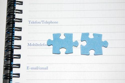 Puzzleteile auf der Tagesordnung
