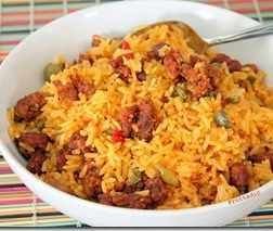 Arroz con Longaniza: Rican Food, Recipe, Rice, Con Longaniza, Puerto Rico, Pr Recipes, Pr Food, Puerto Rican, Puertorican Recipes