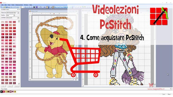 Tutorial PcStitch -  4.  Come acquistare PcStitch