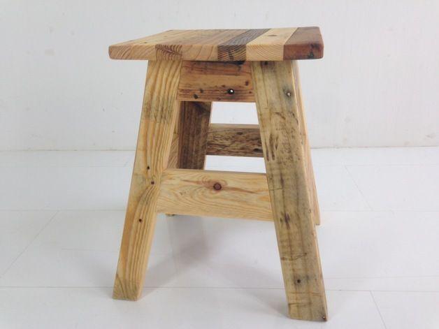Möbel - Hocker aus Palettenholz - ein Designerstück von Produktwerft bei DaWanda
