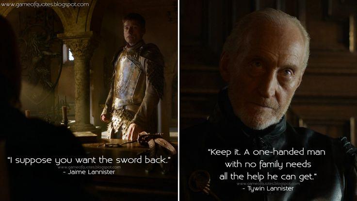 game of thrones jaime lannister vs eddard stark