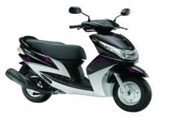 Find the complete information like prices, specification and features of new Yamaha Ray Precious Edition Bike in india 2013 online.
