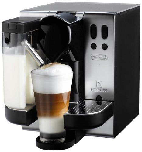 DeLonghi EN680.M Nespresso Lattissima Single-Serve Espresso Maker, Metal - http://teacoffeestore.com/delonghi-en680-m-nespresso-lattissima-single-serve-espresso-maker-metal/