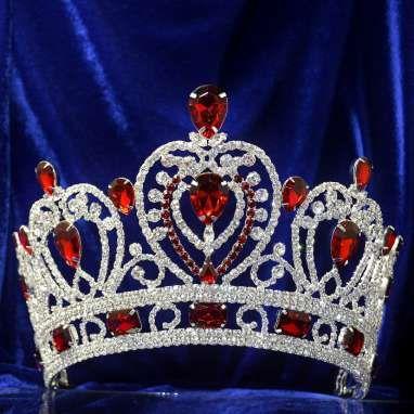 Diadème pour Miss ou mariage Symbole