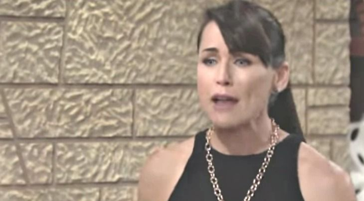 """""""The Bold and the Beautiful"""" spoilers for Friday, July 7, tease that Quinn (Rena Sofer) will be overwhelmed by how fast everything went downhill. One minute Quinn had a loving husband and the next he could barely stand to look at her. Quinn will hate the fact that she betrayed Eric (John McCook). Sh"""