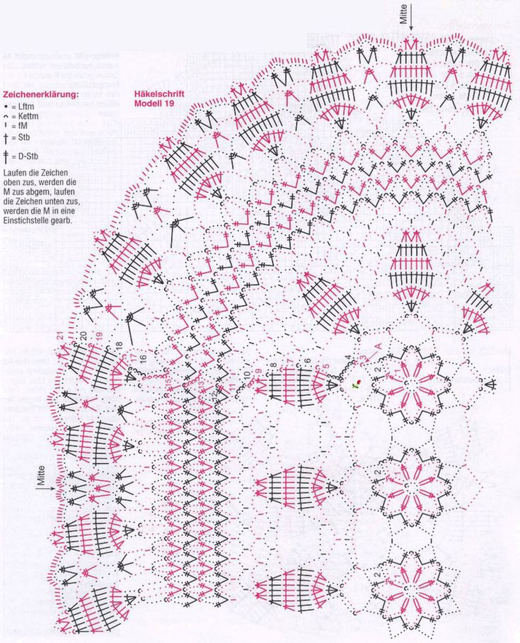журнал ксюша 2013 схема вязания салфетки стар 9