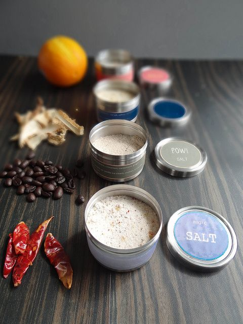 DIY Kitchen Series: Make your own Flavored Salts!