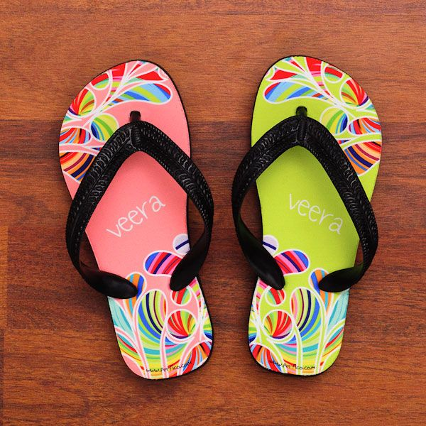 One of Each © Personalized Flip Flops