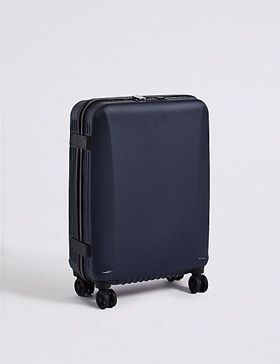 Cabin 4 Wheel Ultralight Hard Suitcase with Security Zip | M&S