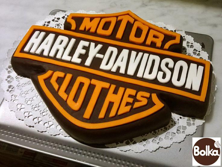 Decorated cake/dísztorta (Harley-Davidson)