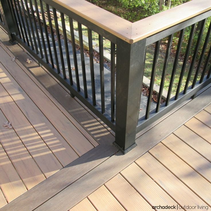 For A Truly One Of A Kind Custom Look, Consider Choosing A Deck Design That  Includes Two Or Three Color Tones.