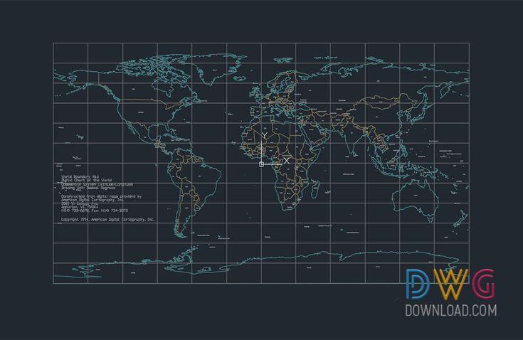 107 best cad blocks images on pinterest worldmap 2d map dwg download map dwg worldmap map dwg gumiabroncs Choice Image