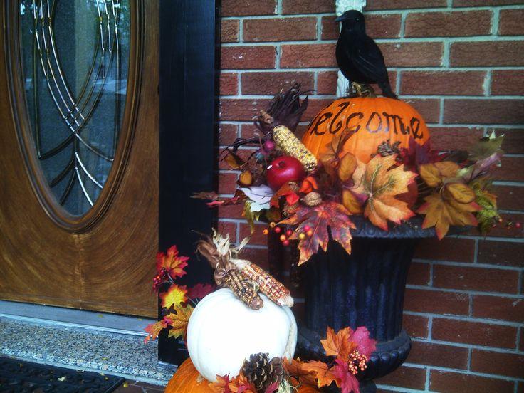 Thanksgiving Foyer Decor : Best images about autumn festive entryways on pinterest