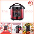 nstant Pot Electric Pressure Cooker 6 Quart Stainless Steel 9 in 1 Programmable, Shipping FREE, Item location USA (  Color - Red, Manufacturer - Ewant, - 6 quart, 9-in-1 Multifunction Pressure Cooker - Pressure|Multigrain|Porridge|Rice|Ribs|Chiken|Meat|Bean Cooker, 9-in-1 Multifunction Pressure Cooker (contd.) - Food Warmer, 14 Built-in Smart Programs Include - Soup, Meat|Stew, Bean|Chili, Poultry, Sauté|Simmer, Rice, 14 Built-in Smart Programs Include (Incld.) - Multigrain, Porridge, Steam…