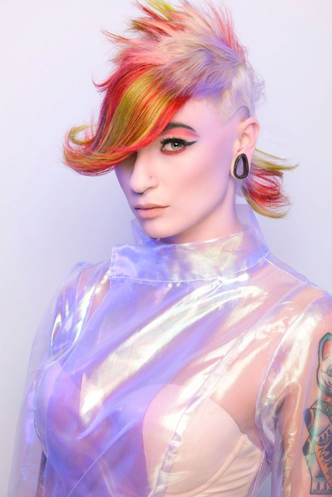 2013 Finalist | STUDENT HAIRSTYLIST OF THE YEAR: Lizz Knaphus - To see ALL the NAHA finalists' work, visit www.modernsalon.com/naha