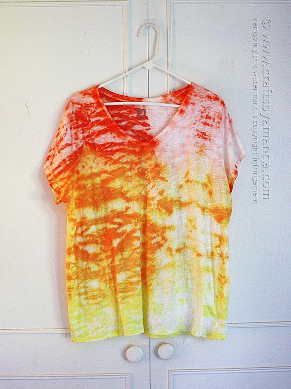 Ombre Shibori Tie Dye
