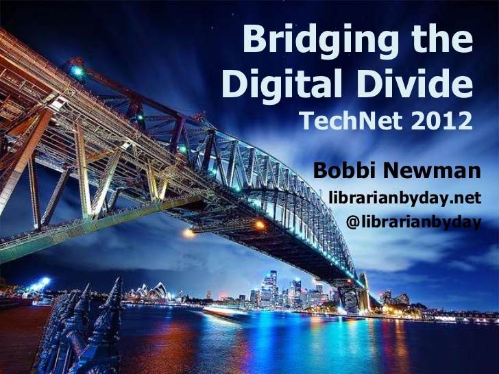 bridging-the-digital-divide-its-more-than-teaching-computer-skills-to-seniors by Bobbi Newman via Slideshare