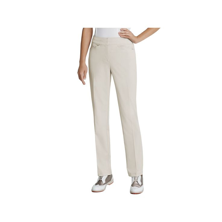 Women's Tail Classic Golf Pants, Size: 18, Lt Beige