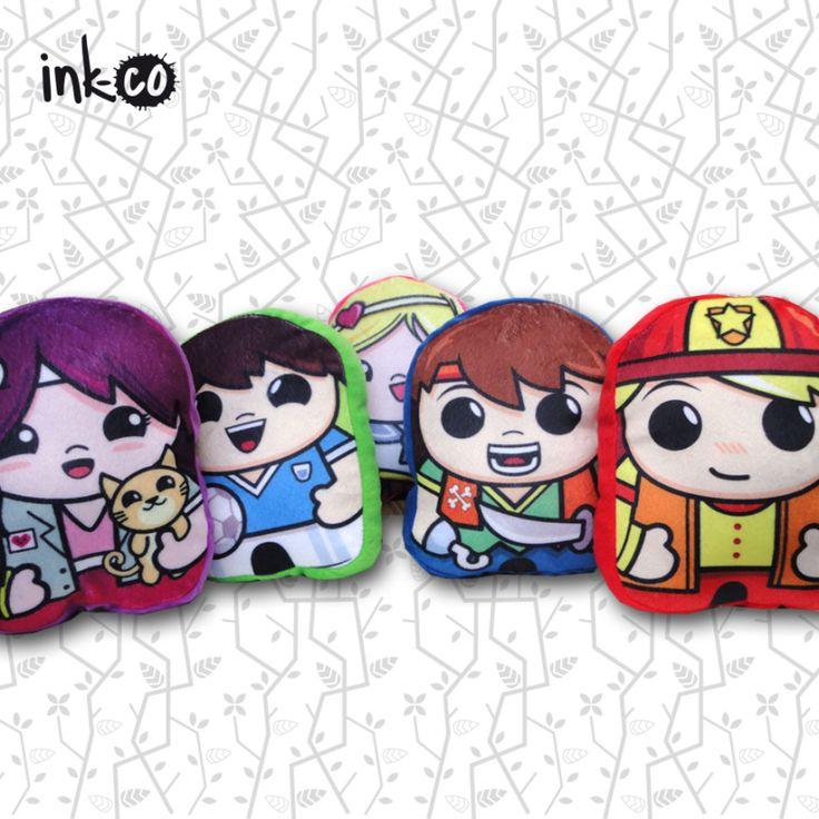 INKCO Muñecos de Profesiones www.ink-co.com.ar