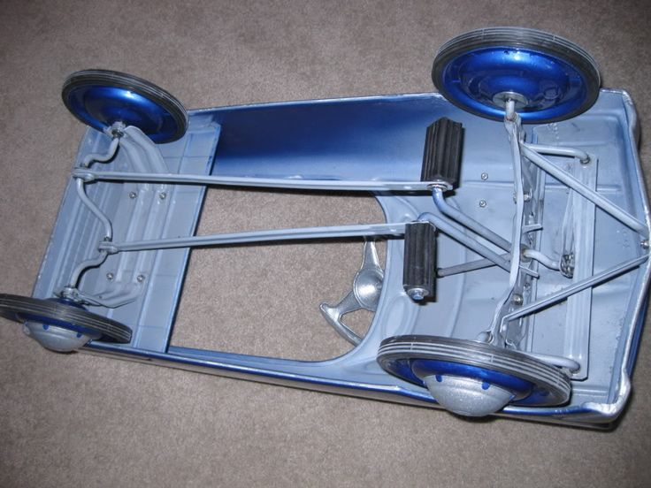how to build a pedal car
