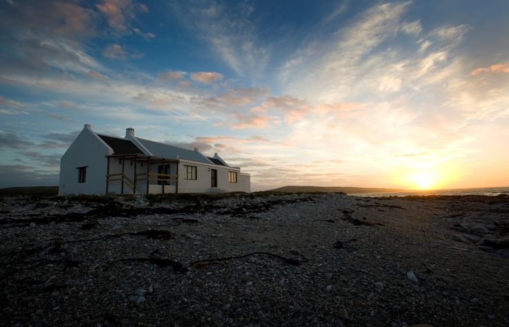 Lagoon House, Agulhas National Park, South Africa. The most southern house/accommodation on the African continent.