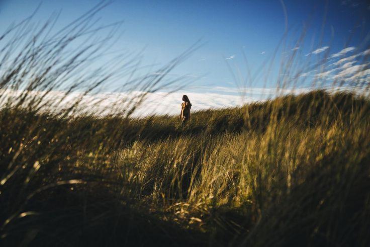 "A walk on the ""Wild Atlantic Side"". Leonie Cornelius walking along through the Irish landscape."