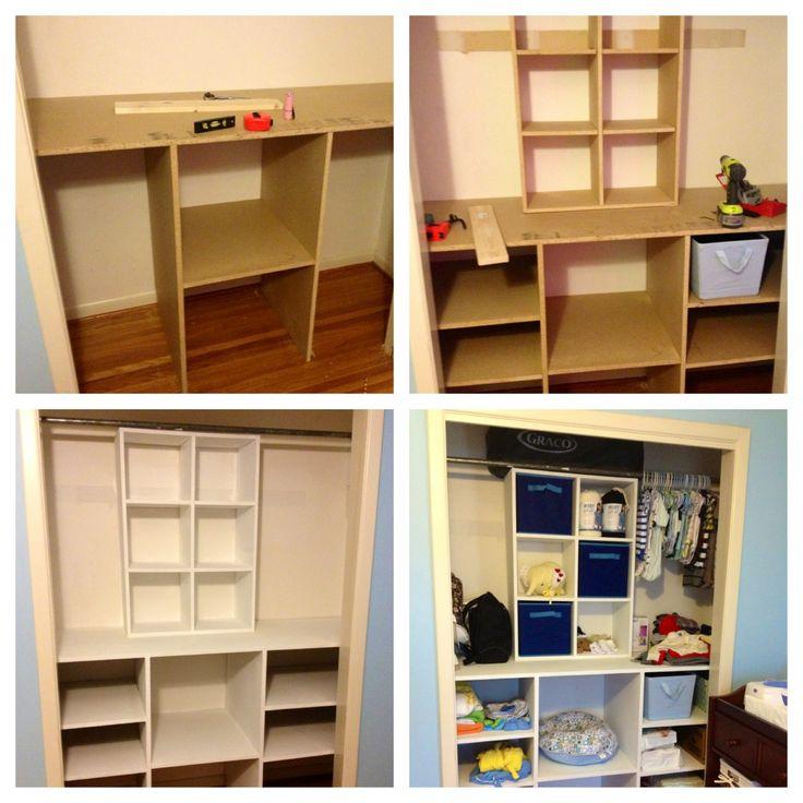 Diy Baby Closet Organizer Closetorganizer Organization