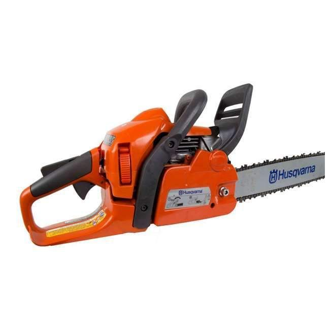The certified refurbished Husqvarna 440 18-Inch 2.4 Hp Gas Chainsaw is a lightweight and efficient all-round saw, ideal for those looking for a chainsaw that is
