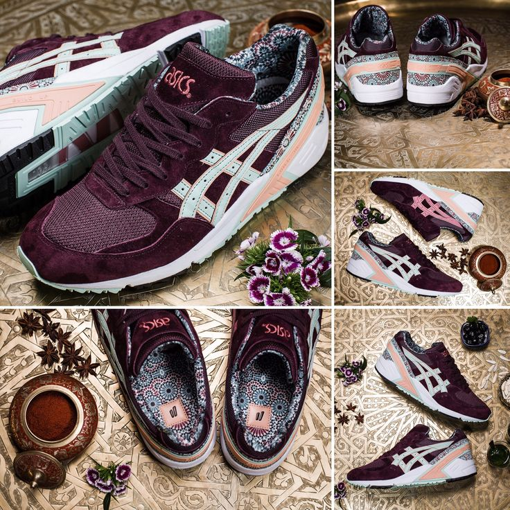 "Overkill & Asics Gel Sight ""Desert Rose"" - released on July 18, 2015 #overkill #asics #desert#rose#sneakersnews #sneakers"