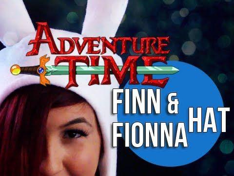 DIY Finn & Fionna Adventure Time Hat - Sew Geek http://youtu.be/pXo2pdA4HUE