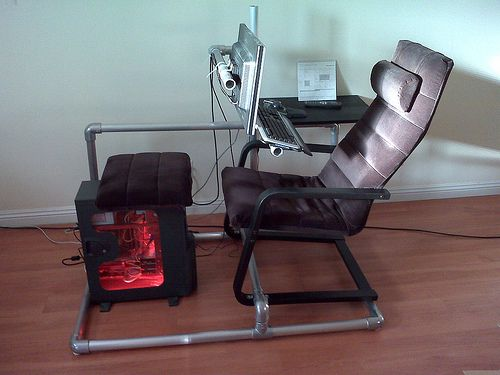 Computer Gaming Chair Becomes Reality