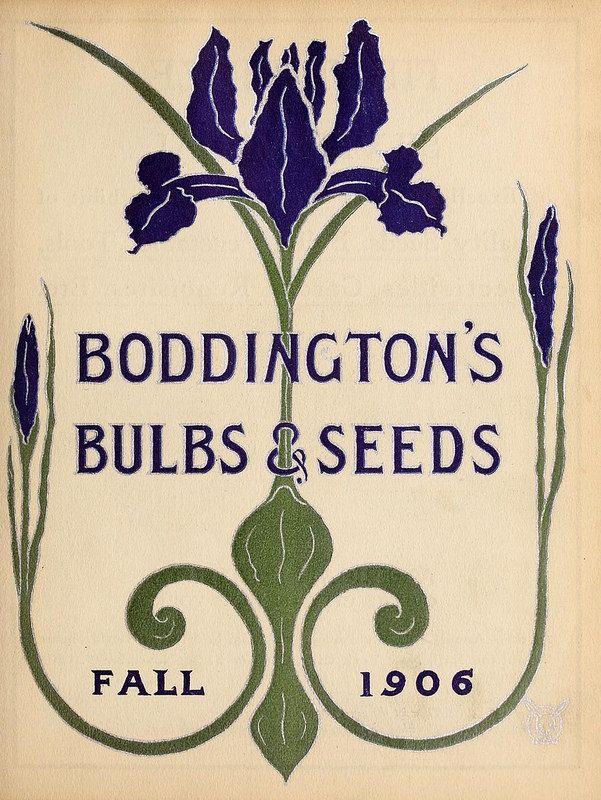 Boddingtonu0027s Quality Bulbs, Seeds And Plants /. New York, N.Y. :Arthur T. Garden  CatalogsSeed ...