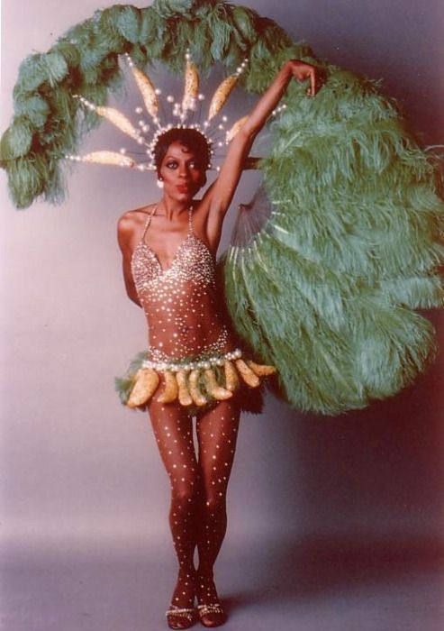 Diana Ross as Josephine Baker, c1978. Visit Renaissance Fine Jewelry and Antiques in Brattleboro, Vt. www.vermontjewel.com