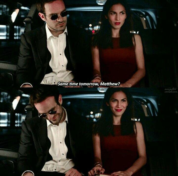 Matt Murdock and Elektra  Charlie Cox & Elodie Yung - Daredevil Season 2