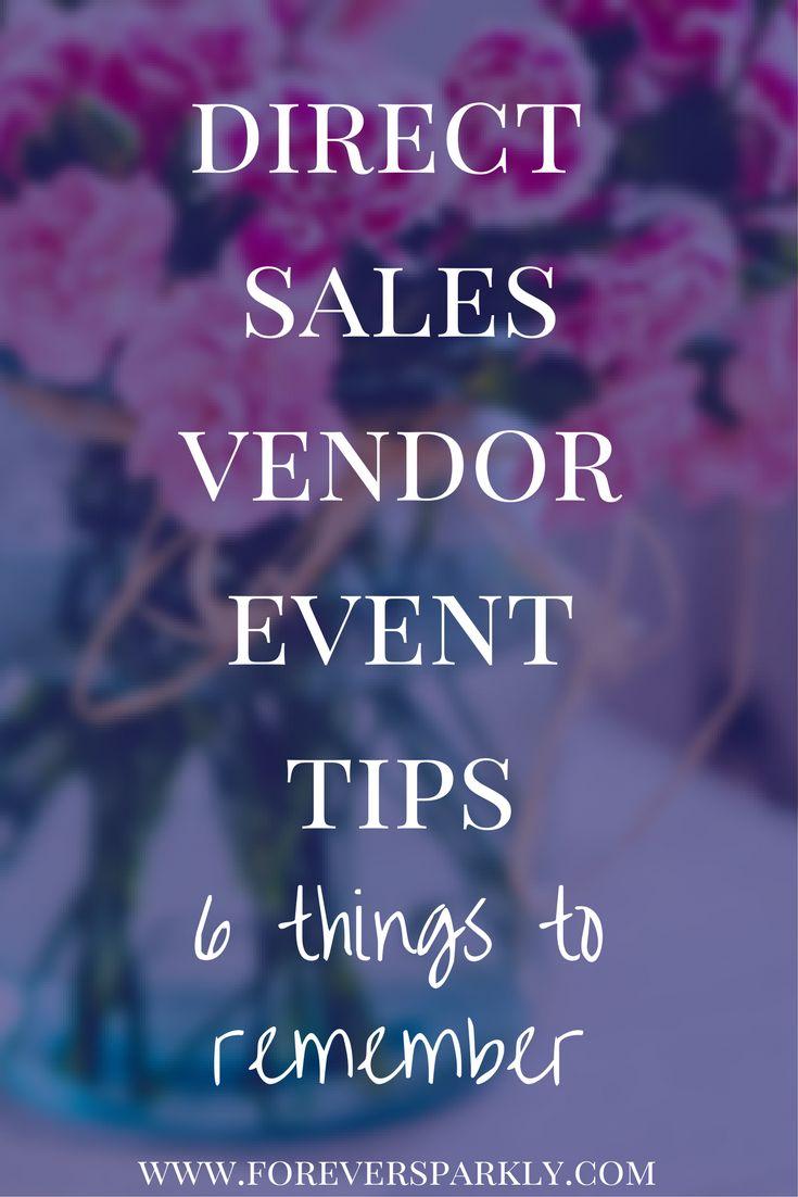 Direct sales vendor event tips for everyone! Learn 6 ways to make your next vendor event a success! Follow foreversparkly.com for more tips! via @owlandforever