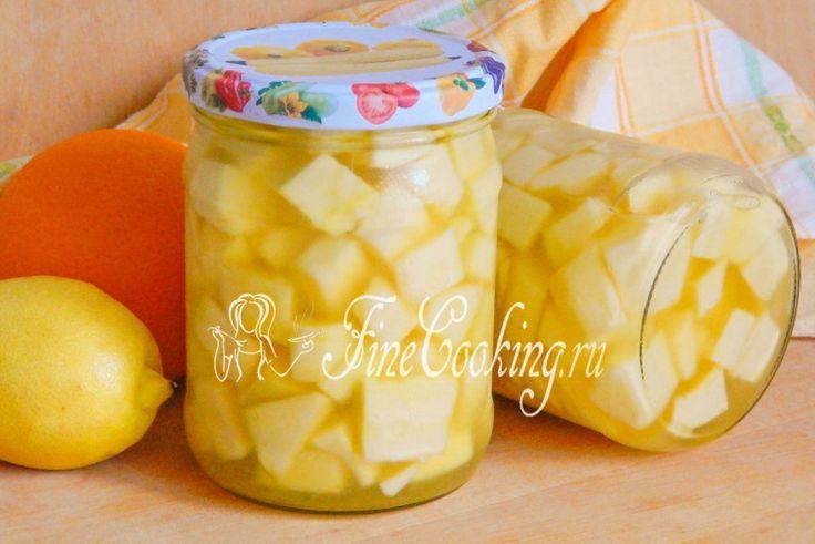 Сладкие кабачки на зиму - рецепт с фото