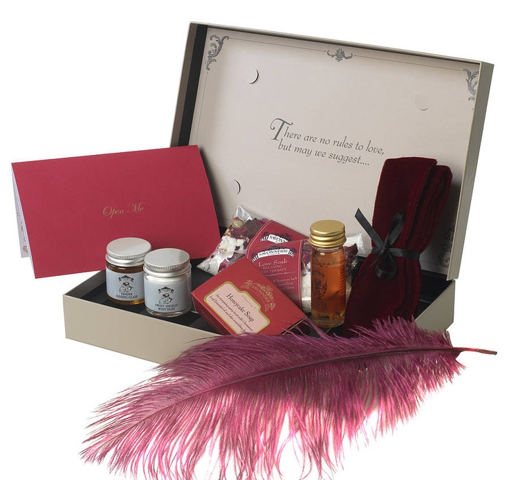 Gift Basket For Bride And Groom Wedding Night: Cute Naughty Honeymoon Kit For The Bride