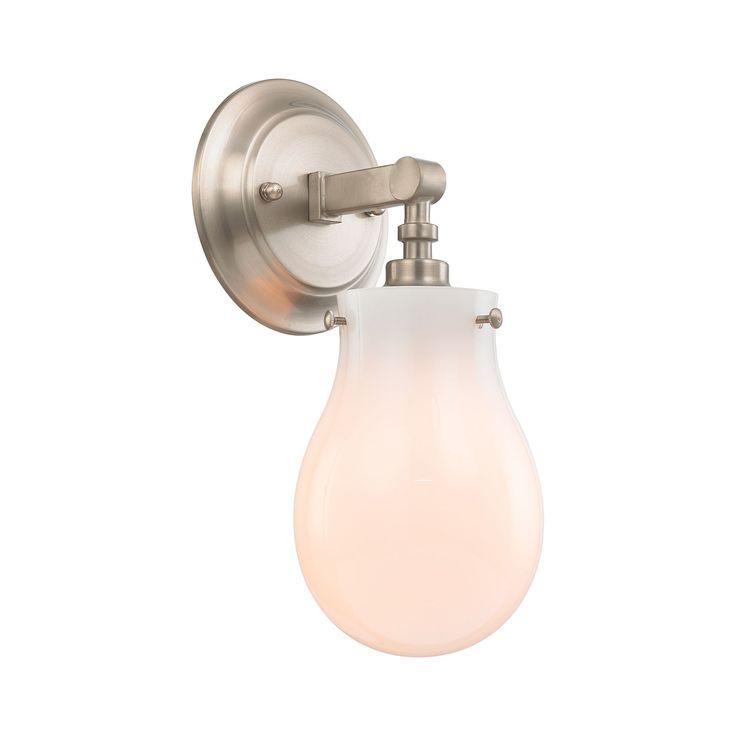 Jaelyn 1 Light Vanity In Brushed Nickel