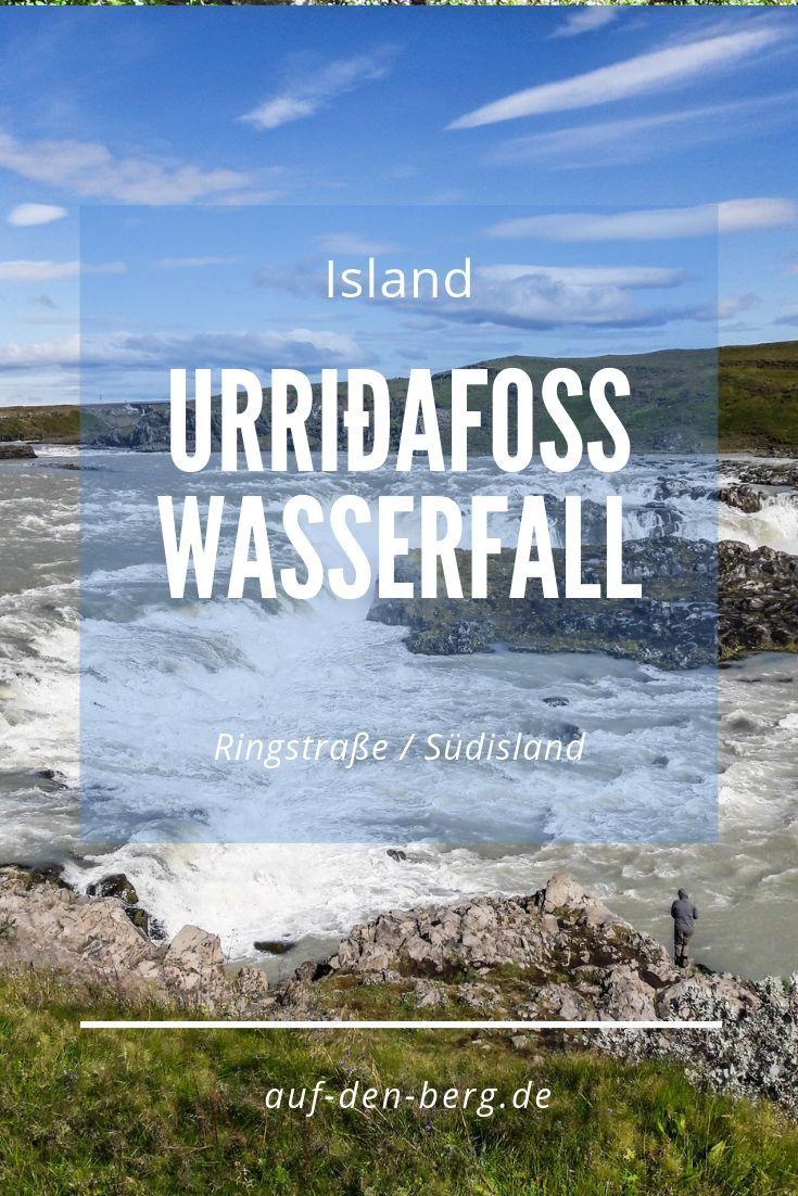 Urridafoss Der Wasserreichste Wasserfall Island
