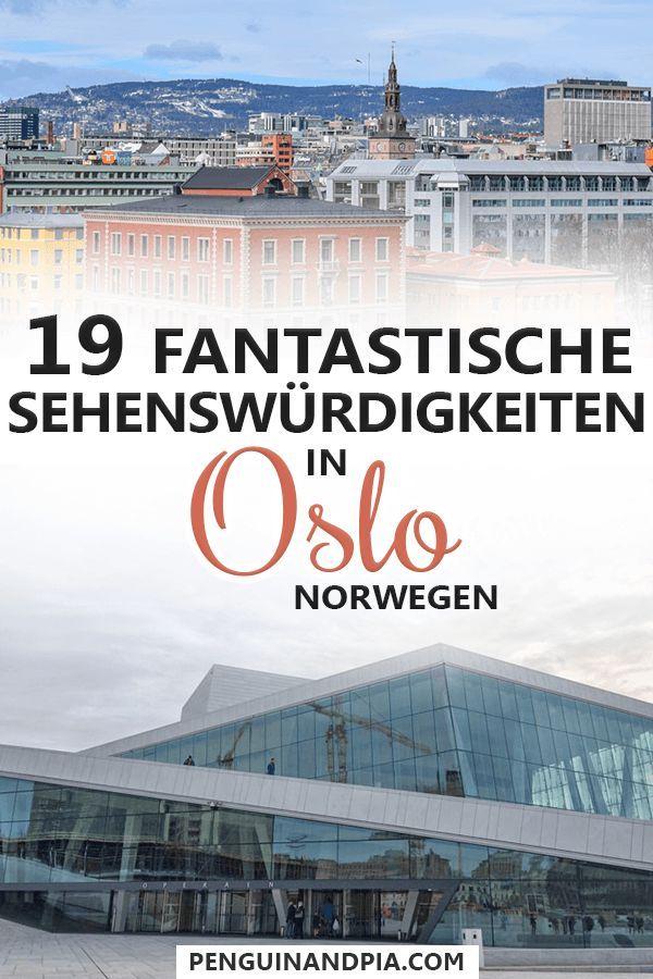 Oslo Sehenswürdigkeiten: 19 Attraktionen in Norwegens Hauptstadt