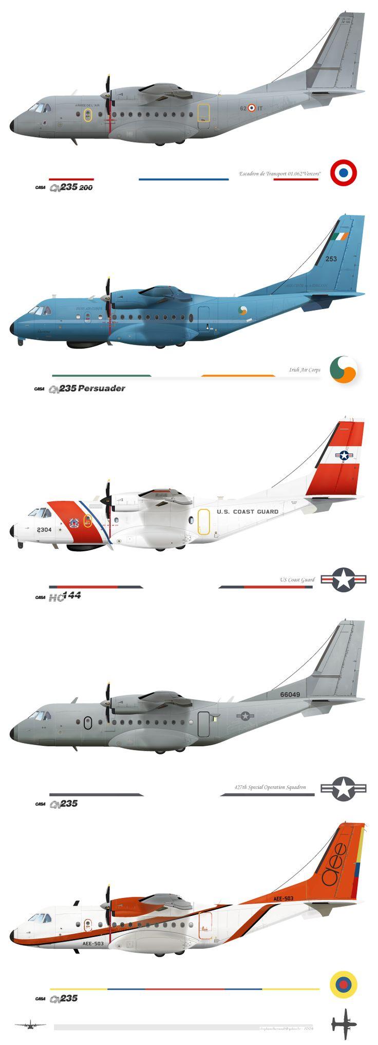 CN-235 worldwide livery