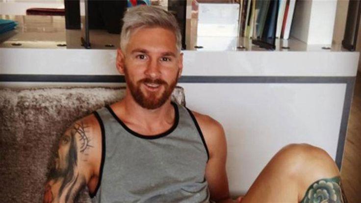 """El nuevo look de Lionel Messi: la foto de la intimidad que publicó el peluquero, el emoji que le dio Suárez y Antonella """"privatizó"""" su cuenta  El nuevo look de Messi"""