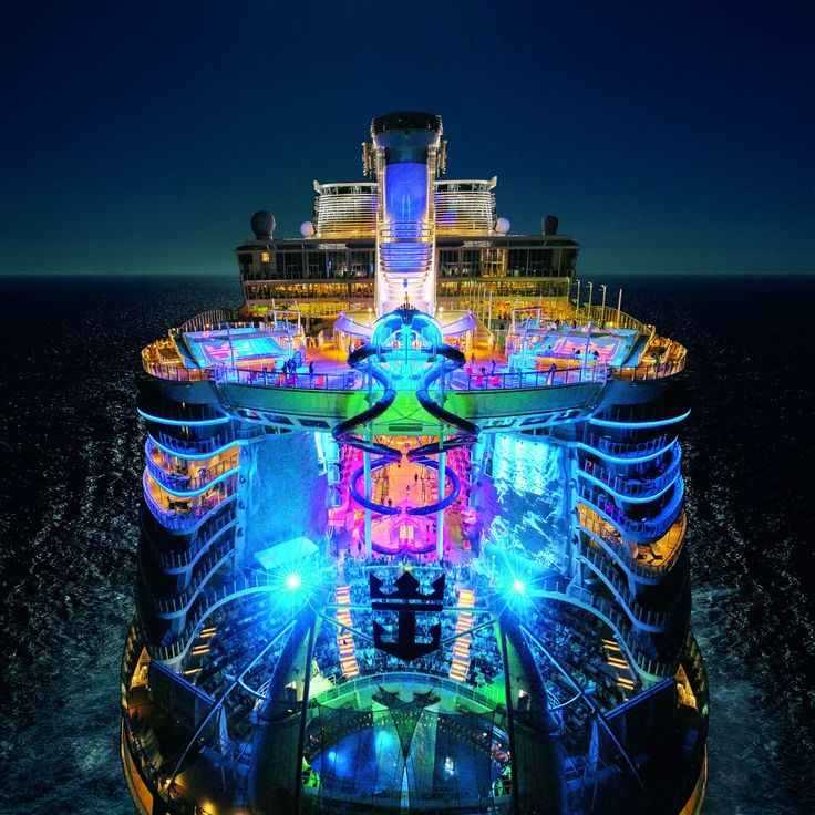 The most over the top luxurious cruise ships in the world