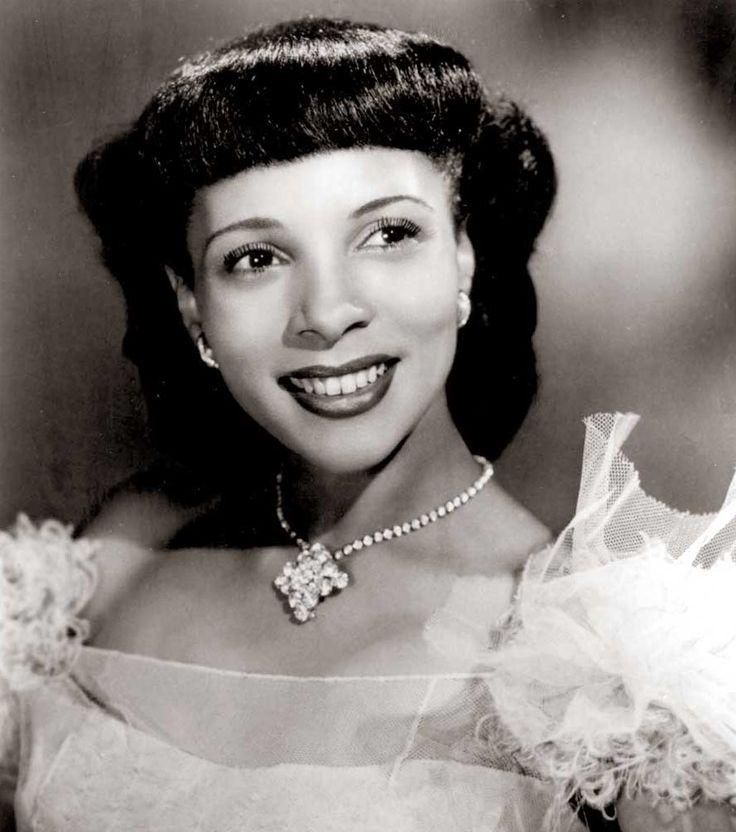 Hadda brooks vintage black glamour iconic women black